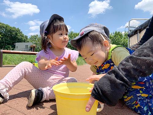 お散歩・外気浴・公園遊び